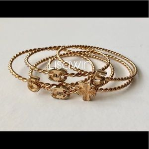 💯 Authentic Chanel Bangles ( Sets of five)